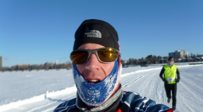 Getting my Tri On at Winterlude