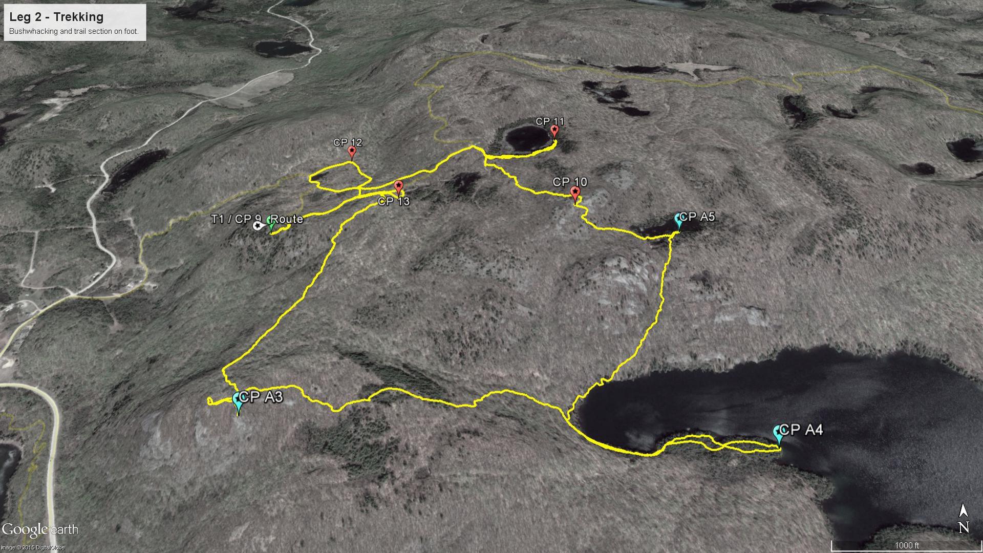 Leg 2 - Trekking