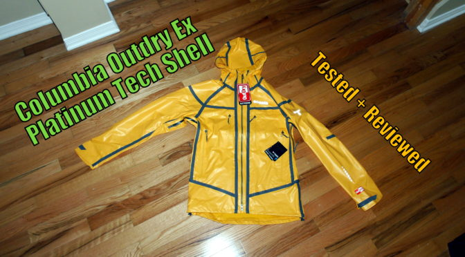 Columbia Outdry EX Platinum Tech Shell Review