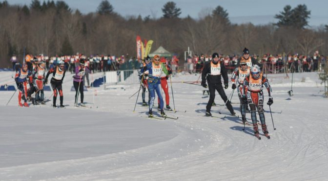Doubling Down at the Gatineau Loppet
